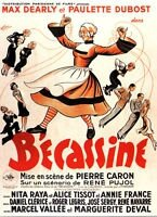 French Becassine film poster 1939