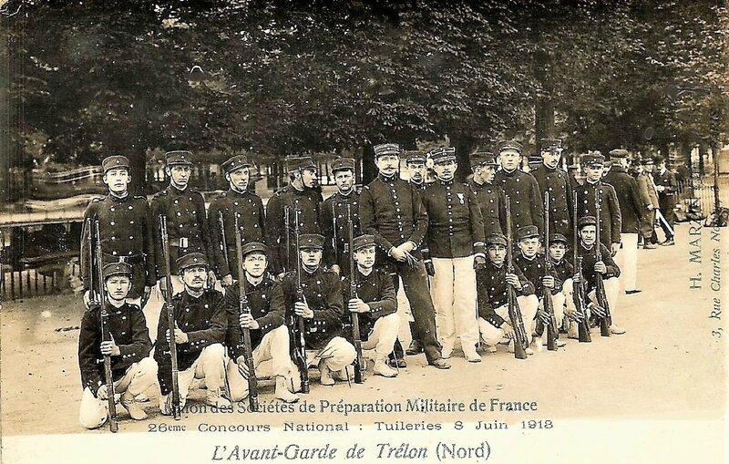 TRELON - Préparation Militaire (3)
