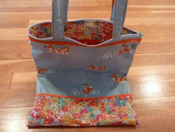 48 Tote Bag Renard Birch et Liberty Margaret Annie 3