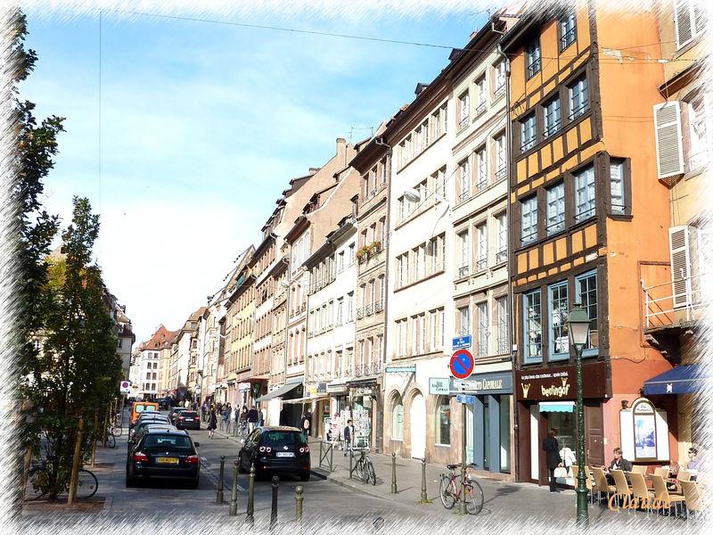 Rue du vieux marche aux poissons strasbourg en photos
