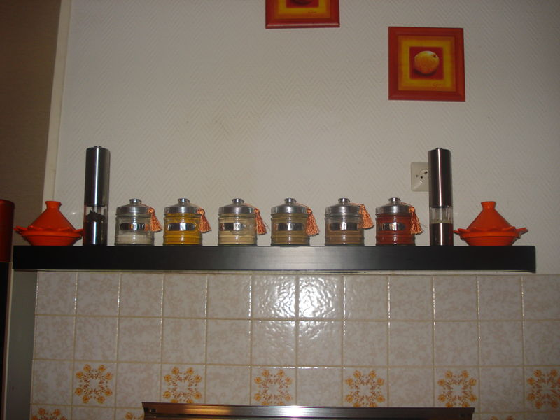 Decoration etagere de cuisine for Pot deco cuisine