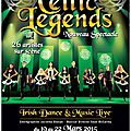 Celtic legends sur les routes de france