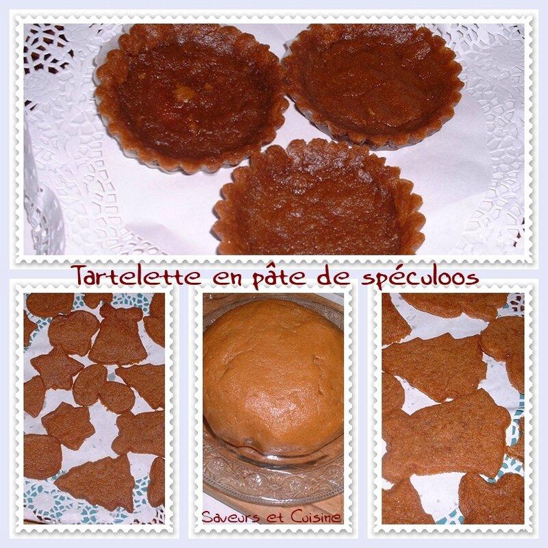 Tartelette et petits sablés au spéculoos 1