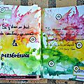 Mon portrait chinois d'avril 2015 - art journal & scrapbooking day 2016 de scrappons zen