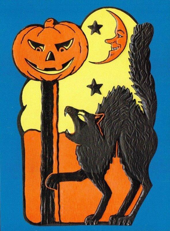 CPM Halloween Chat Citrouille