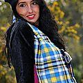 écharpe de soie en Dinarzh