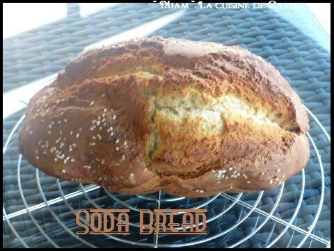 """ღ """" Miam """" Soda Bread ( Pain Irlandais )"""