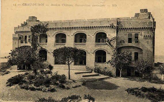 Grau du Roi Château Leenhardt façade sud