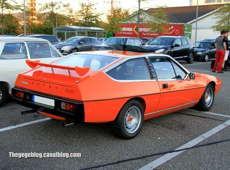 Lotus eclat (1975-1982)(Rencard Burger King septembre 2012) 03