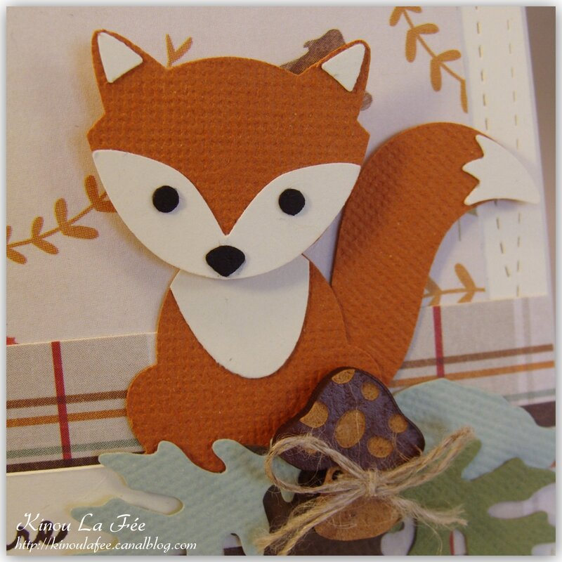 Carte Foxy Friends Automne 4