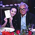 Jolin attends a cartier and a giuseppe zanotti event!