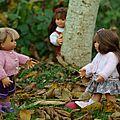 Petits gilets d'automne pour les wichtels