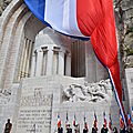 FTE DE LA VICTOIRE DU 8 MAI 1945 AU MONUMENT AUX MORTS DE NICE