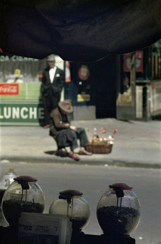 saul leiter through the window shop