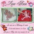 Album de naissance de Lou-Ann