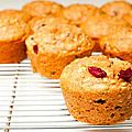Muffins  l'orange SANS GLUTEN
