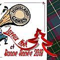 Voeux: highland games france lance sa bûche de noël