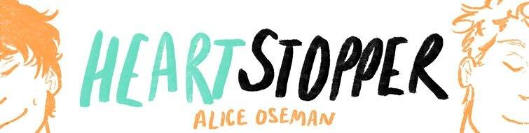 Heartstopper bannière Alice Oseman