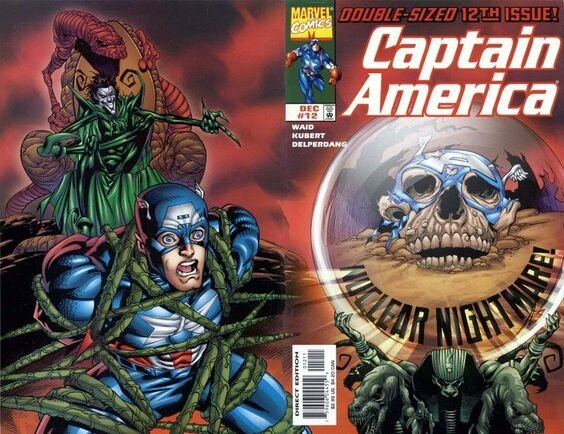 captain america 12 wrap cover