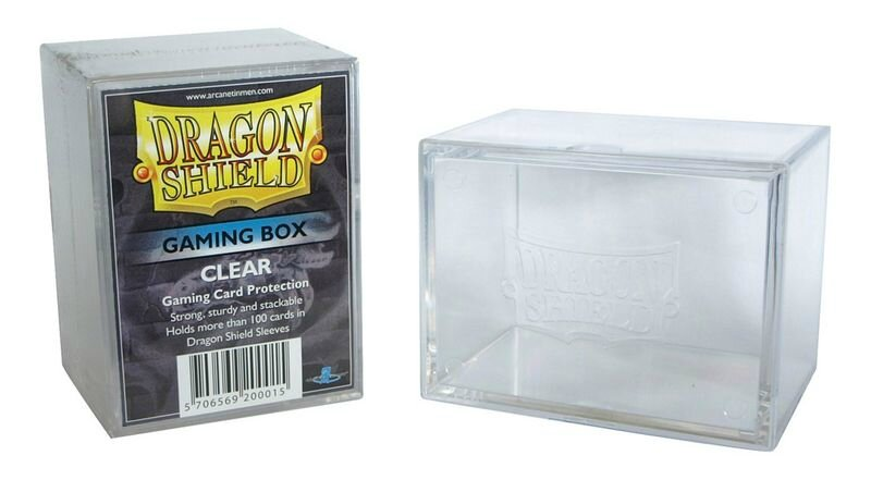 Boutique jeux de société - Pontivy - morbihan - ludis factory - Dragon shield gaming box