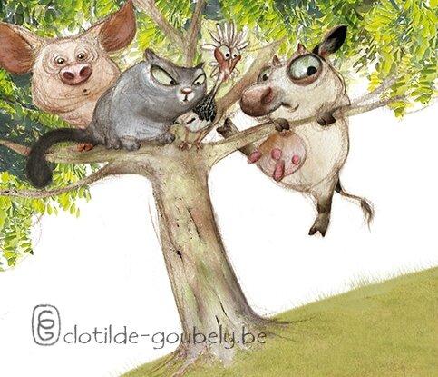 animaux-arbre
