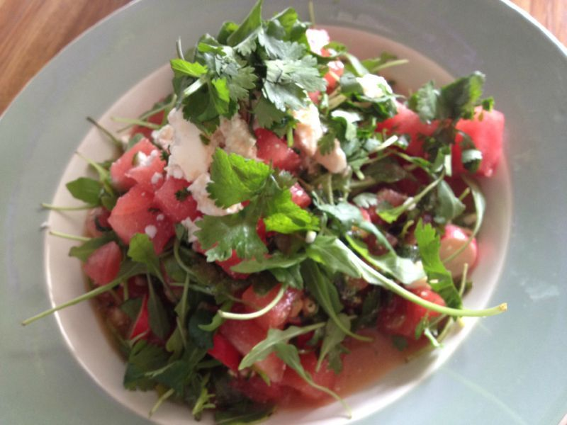 Salade de past que dite plut t salade de fille garance et d pendance - Salade de pasteque ...