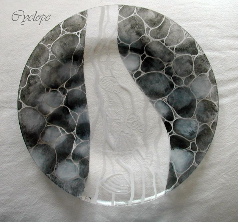 Assiette galets coquillages le blog d 39 aventurine for Galets plats decoratifs