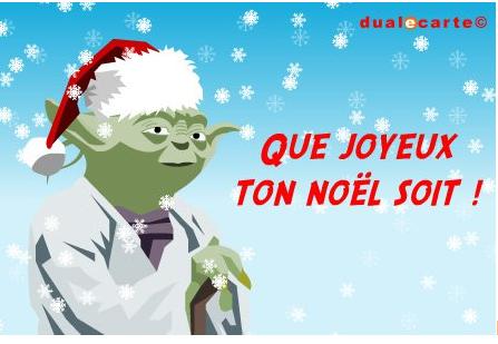 joyeux noel Yoda