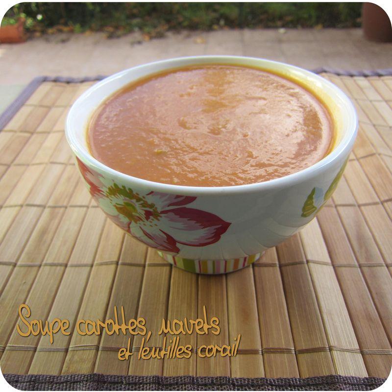 Soupe carottes navets et lentilles corail cuisine et - Cuisine et dependance ...