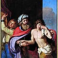 Guercino (giovanni francesco barbieri) (1591 - 1666), the return of the prodigal son, 1654 - 55