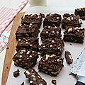 Tiffin, gâteau au chocolat sans cuisson