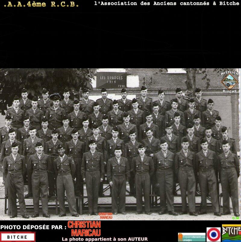 GILBERT MESSIAEN service militaire au 72ème R