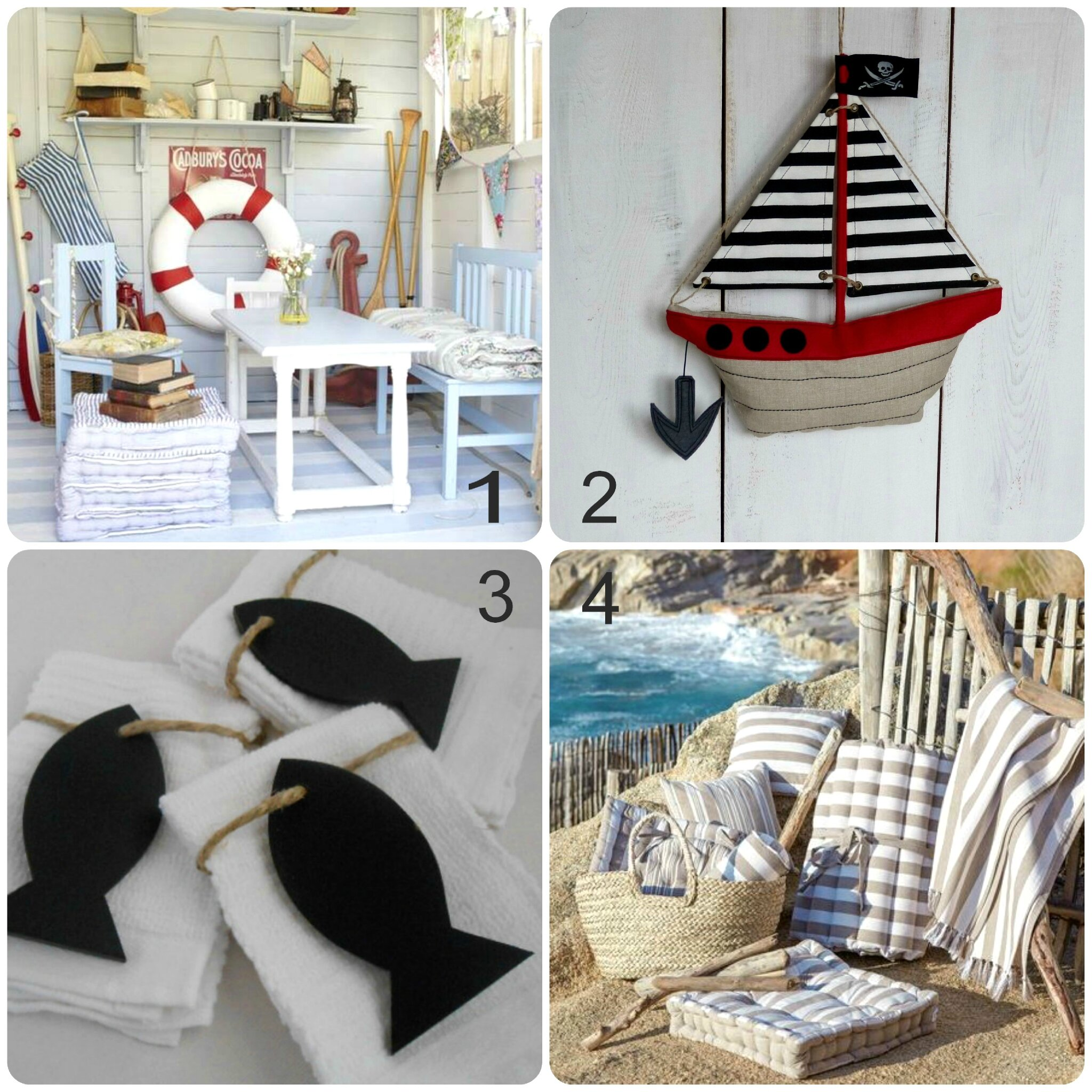 130 objet deco bord de mer livre d co bord de mer marie. Black Bedroom Furniture Sets. Home Design Ideas
