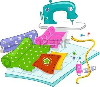 12575440-illustration-des-mat-riaux-utilis-s-dans-quilting