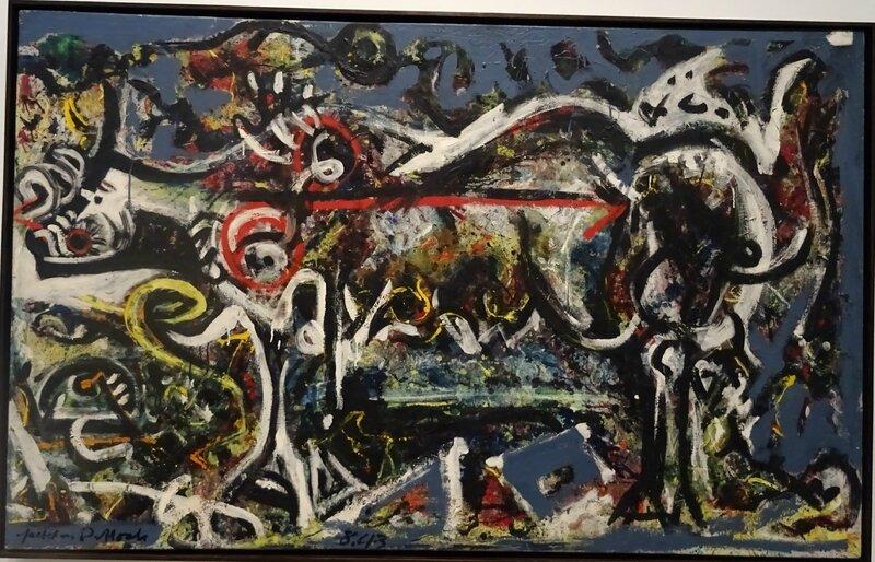 Jackson Pollock La Louve 1943