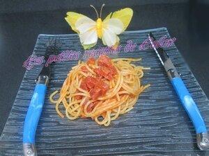 Spaghetti au saucisson sec30