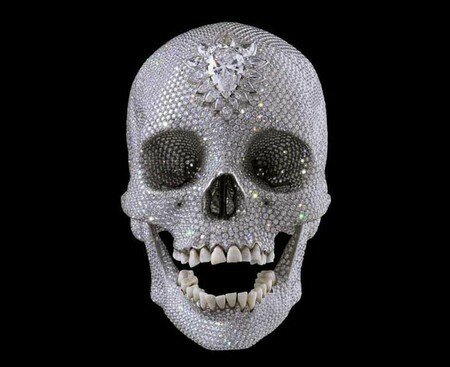 Damien Hirst, platinum and diamond skull, 2006 (?)