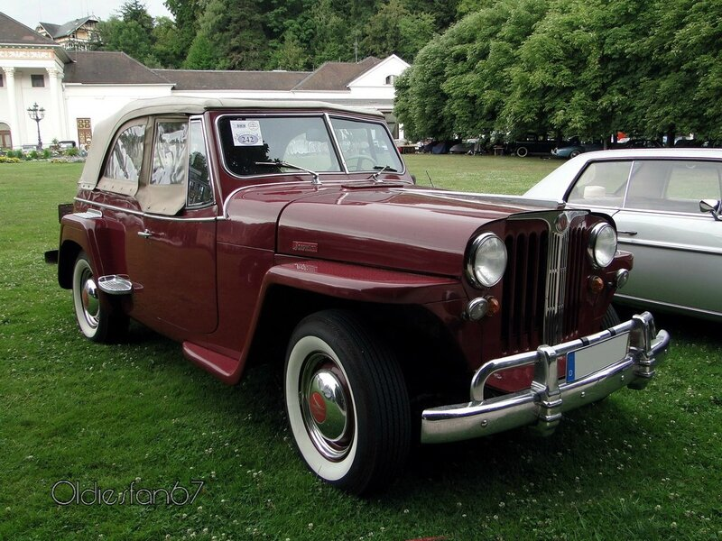willys jeepster phaeton convertible 1948 c