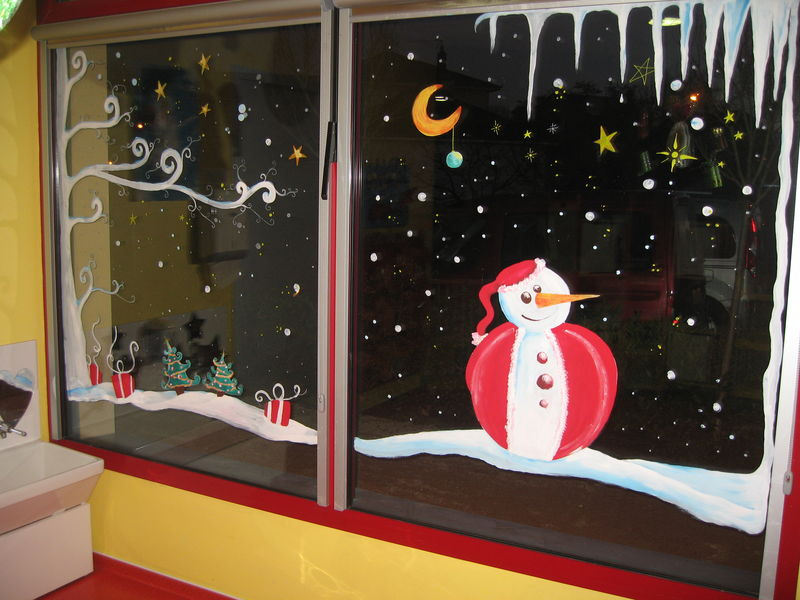 vitrine de noel pour creche photo de vitrines de noel arts et peintures. Black Bedroom Furniture Sets. Home Design Ideas