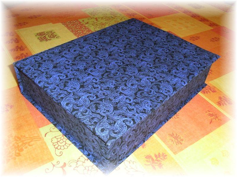 cartonnage crin pour ma m nag re 2 passion point de croix. Black Bedroom Furniture Sets. Home Design Ideas