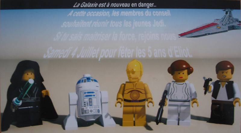 Star Wars Party La Fille Lectrique