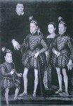 La famille royale dans la collection de Castel Howard