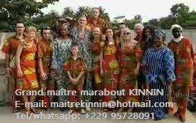 visite de quelques clients satisfaits au temple du maître kinnin