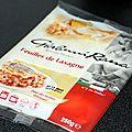 Les feuilles de lasagnes fraîches et autres rouleaux de pâtes pour pasta débarquent !