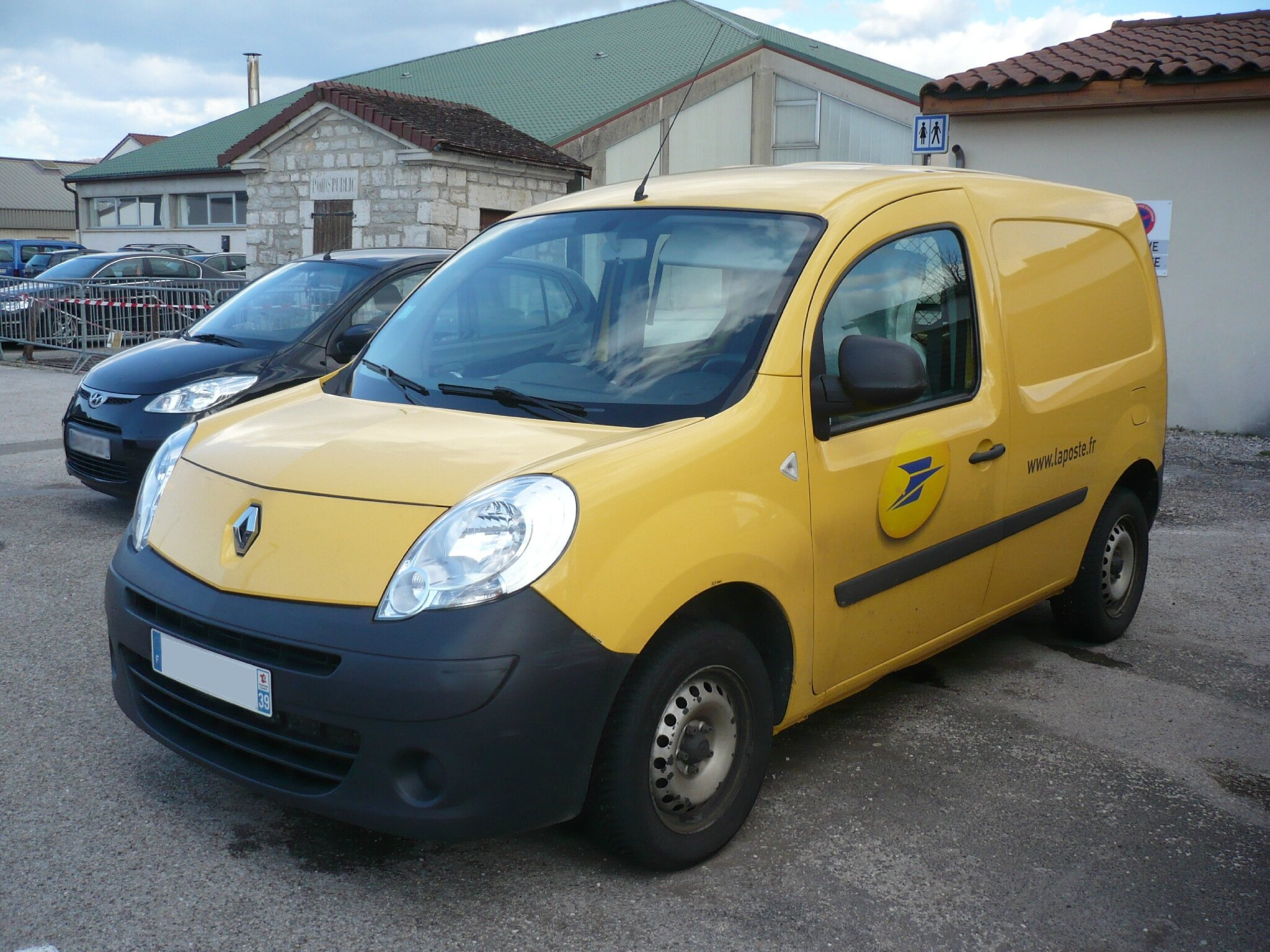 renault tech kangoo ii utilitaire la poste 2012 vroom vroom. Black Bedroom Furniture Sets. Home Design Ideas