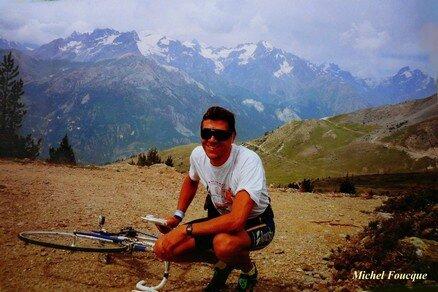99) Montée à vélo sur le col de Granon