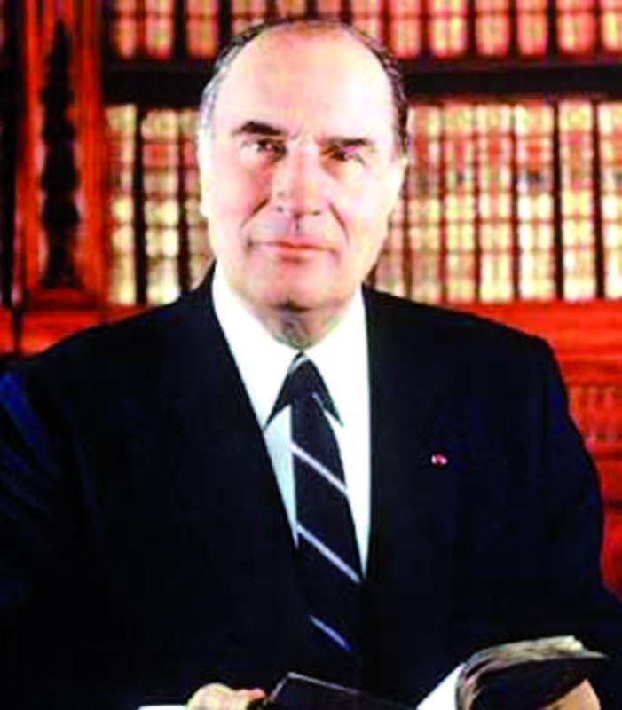 FRANCOIS MITTERRAND PRESIDENT
