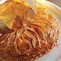 Galette à la creme d'amandes ou pithiviers