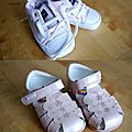 Lots chaussures bebe filles