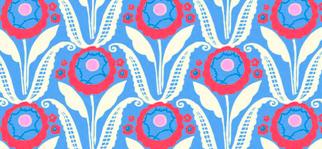 0363 8135 C Sunflower Bloom bleu